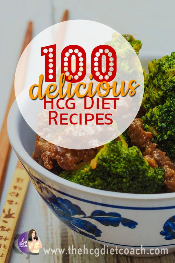 100 of the most delicious hcg diet recipes for phase 2 (p2)