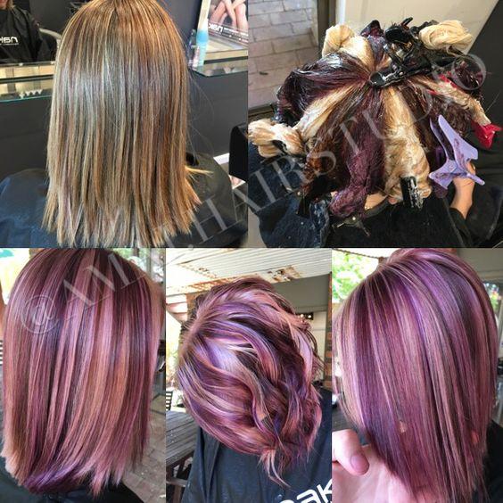 Pinwheel Hair Coloring Tutorial