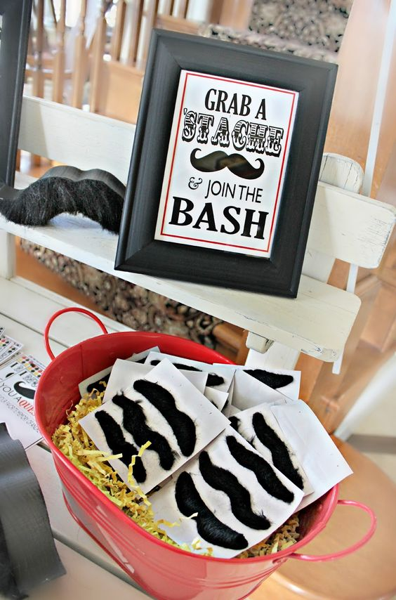 Bridgey Widgey: Mustache Bash (Birthday)
