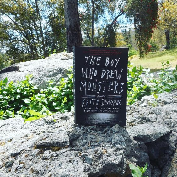 #FirstChapterFriday The Boy Who Drew Monsters