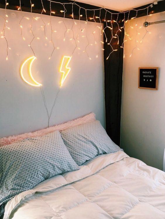 Luminarias Led Neon Deco Petite Chambre Diy Deco Chambre Fille Ado Et Deco Chambre Cosy