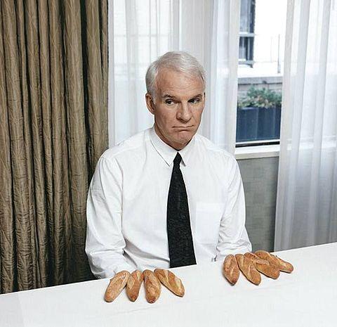 Steve Martin bread fingers