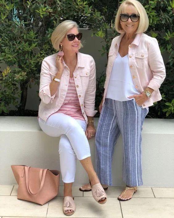 Стильные образы для женщин 45+: Просто и со вкусом | Новости моды