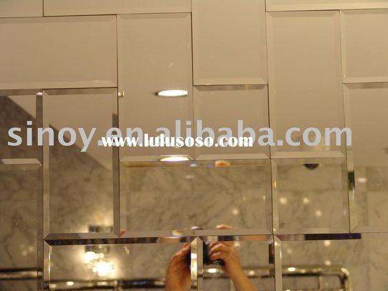 Mirror Tiles Tile And Mirror On Pinterest