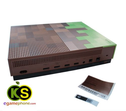 Original New Xbox One S Console Full Housing Case Cover Microsoft Xbox One S Minecraft Limited Edition Bundle Console Housing Xbox One S Xbox Xbox One Console