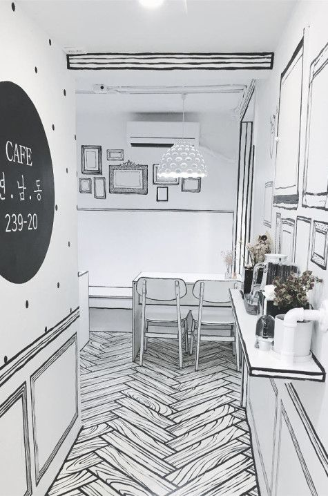 This Cafe S Cartoon Aesthetic Is Something You Have To See To