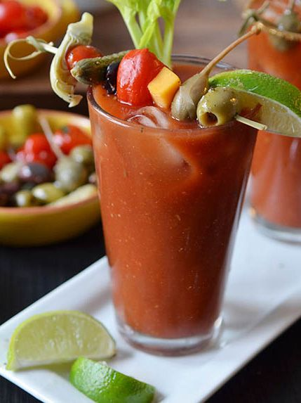 Celery bloody mary recipes and vodka on pinterest - Cocktail bloody mary ...