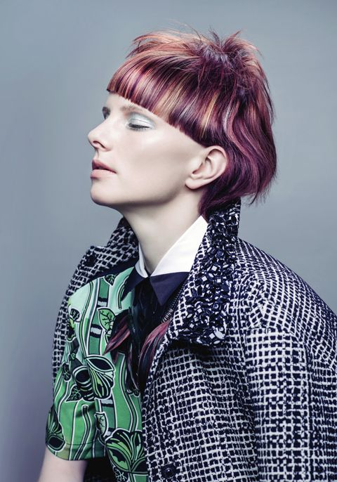 Goldwell Color Zoom 2015 Category: NEW TALENT Semi - finalists | Germany Hair: Janna Borkenhagen, Die Friseure Ortmann und Christ, Schwerin
