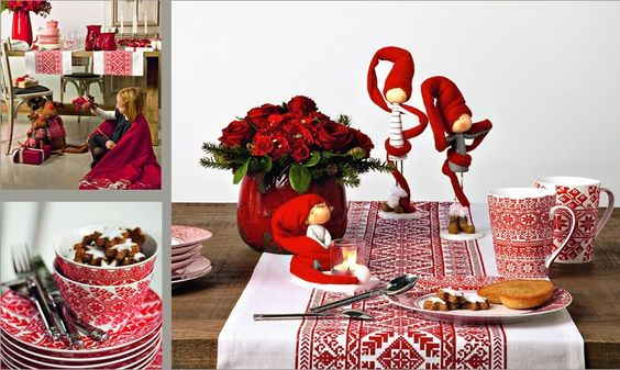 Sia home fashion christmas table decoration zorka for Sia decoration noel
