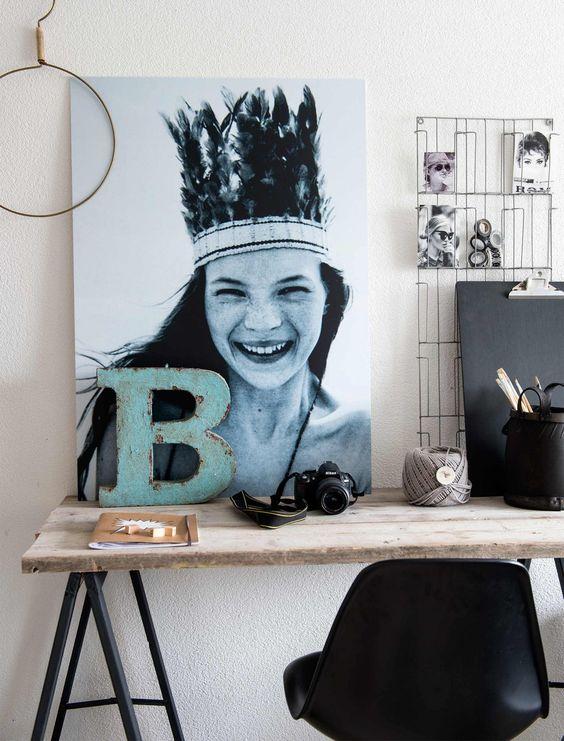 Romantisch, invloeden uit Ibiza: Alexandra heeft al vele stijlen en kleuren in haar geschakelde woning gehad. Nu is ze fan van stoer en industrieel.