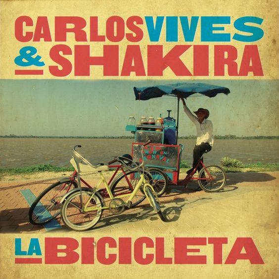 Carlos Vives, Shakira – La Bicicleta (single cover art)