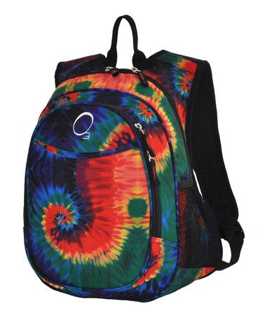 Take a look at this Tie-Dye All-in-One Backpack by Backpack Bonanza Collection on #zulily today!