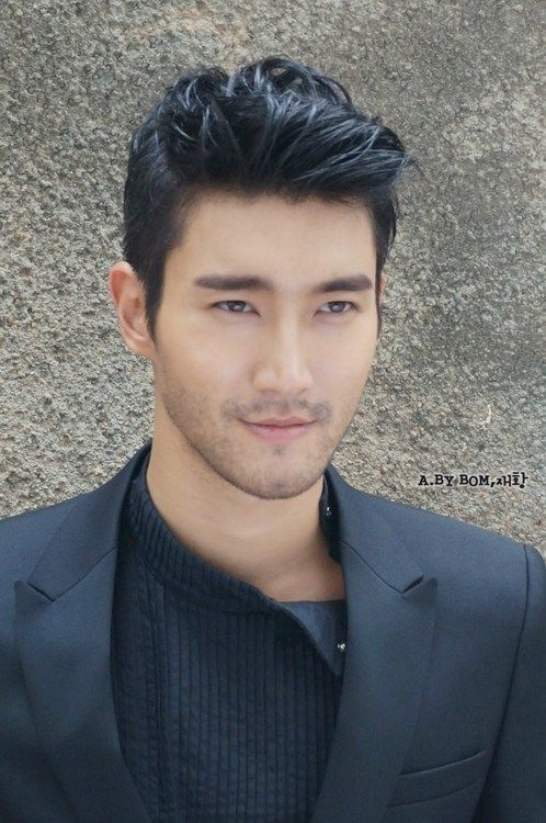 Siwon, such a handsome young man, it's nice to see a kpop group member who is masculine and pretty, they are often a little too feminine for my taste. :)