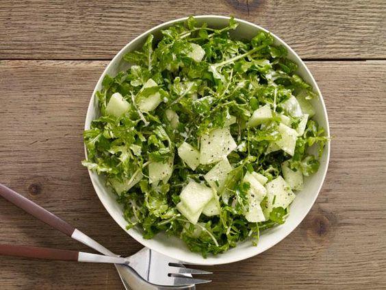 Honeydew and Arugula Salad