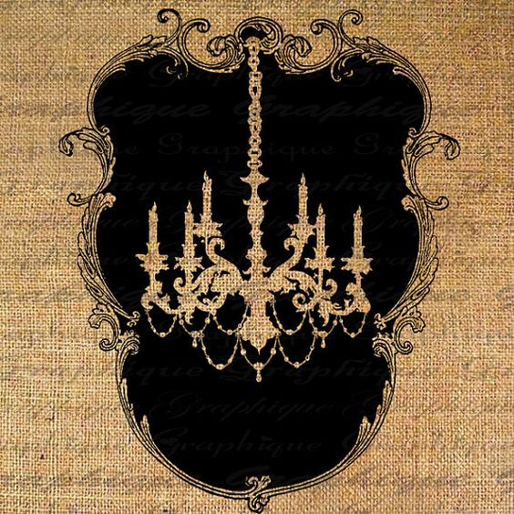 chandelier digital download