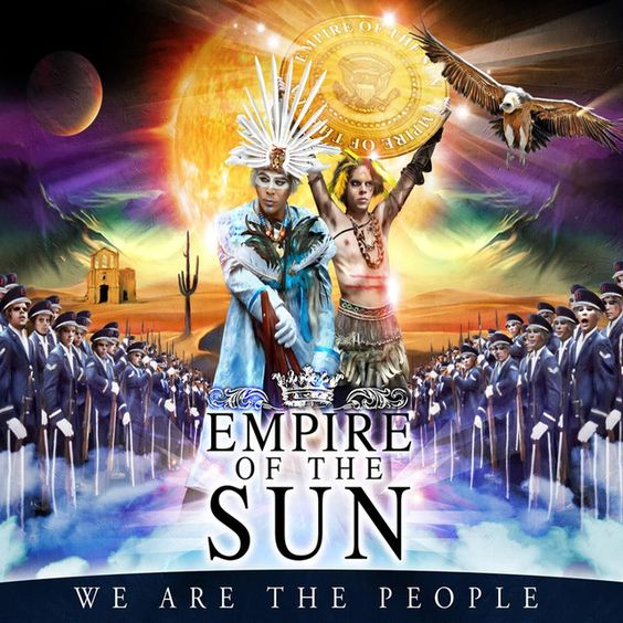 Empire of the Sun – We Are the People (single cover art)