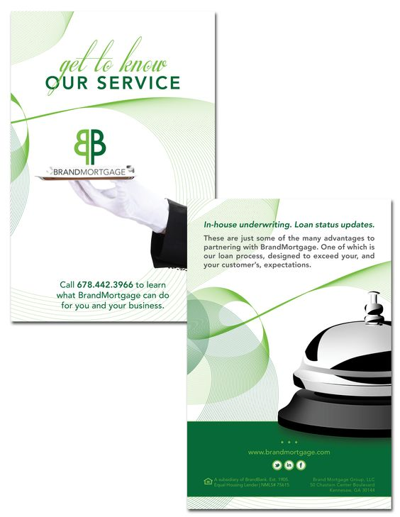 Brandmortgage; Drip Campaign; Postcard Design; Graphic Design
