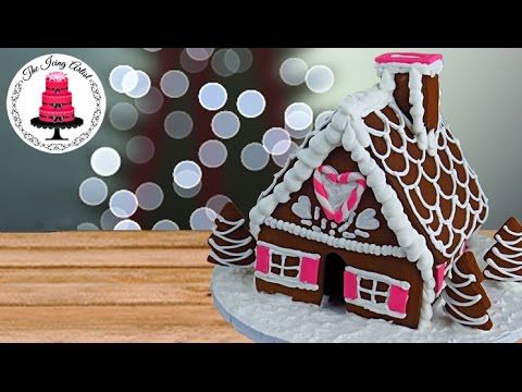 Christmas Gingerbread House - How To With The Icing Artist And Special Guest! - YouTube