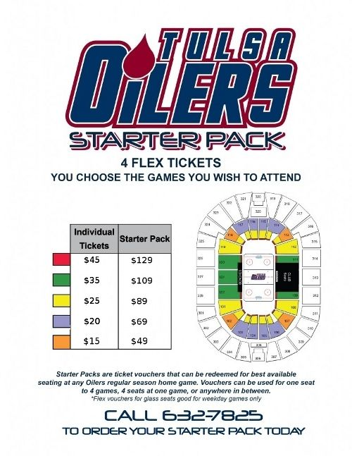 Get your Oilers Starter pack today.     http://www.tulsaoilers.com/tickets/starter-pack/