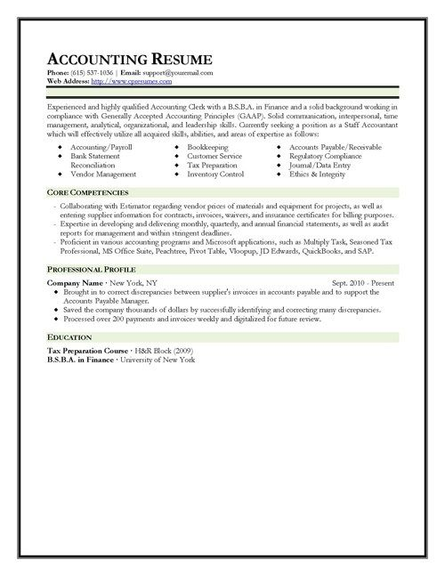 Fast Online Help Cv Format Of Professional Accountant Accountant Resume Resume Template Resume Template Examples