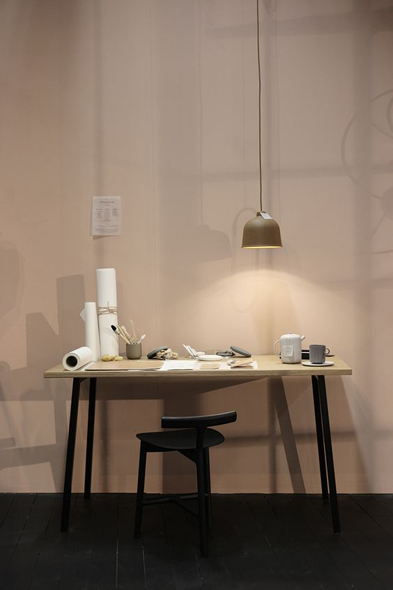 Susanna Vento's styling at Stockholm Furniture & Light Fair, via http://www.scandinavianlovesong.com/