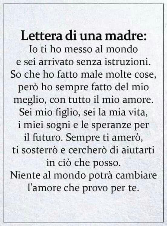 Pin Di Salvatrice Ippolito Su Poesie Dedicate A Mia Figlia Citazioni Sagge Braccialetti Da Uomo Lettera