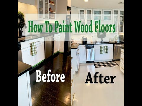 Do It On A Dime How To Paint Wood Floors Save Thousands Of Dollar By Diy Painting Youtube In 2020 Painted Wood Floors