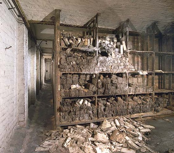 Great Eastern Railway Personnel Files In The Basement