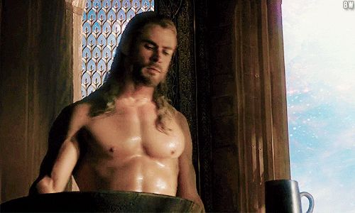 Also like. Can we talk about his rockin' bod?   29 Reasons Chris Hemsworth Is Actually Still The Sexiest Man Alive