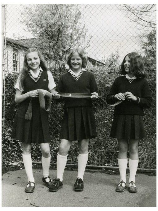Vintage British School Girl 'british schoolgirl vintage'