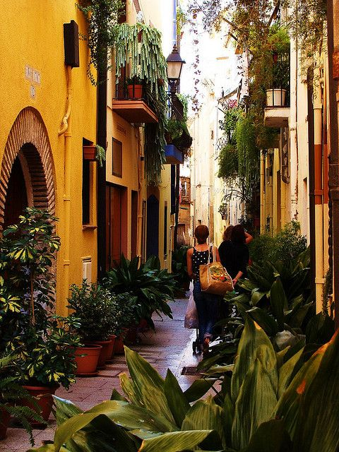 Cambrils, a beautiful small town in Tarragona   Spain