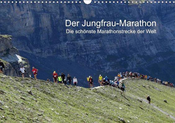 Der Jungfrau-Marathon - CALVENDO