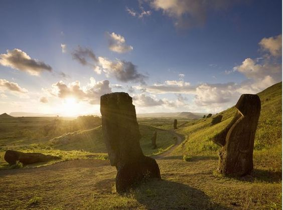 #ridecolorfully to easter island by Michael Dunning