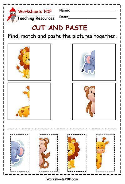 Pin On Pros Ektypwsh Cutting activities for preschoolers pdf