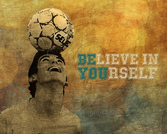 Soccer Artwork Customized Poster of Your Athlete (SAMPLE LISTING) #soccer #motivational #sports