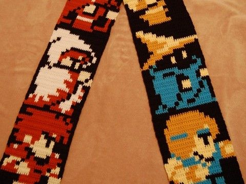 Final Fantasy scarf I want.