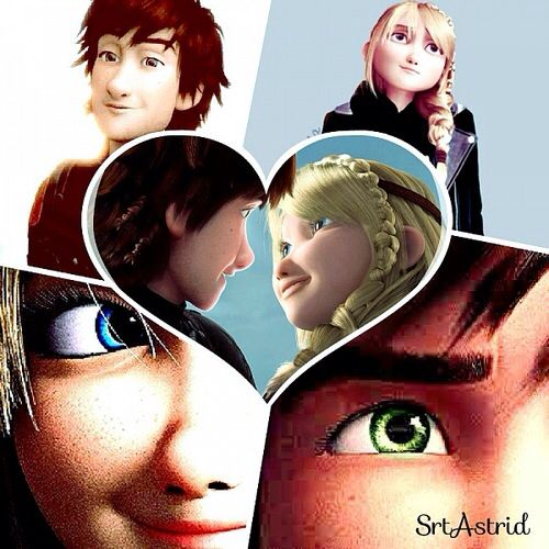 Hiccup and Astrid Hiccstrid XD  hiccstrid  Pinterest