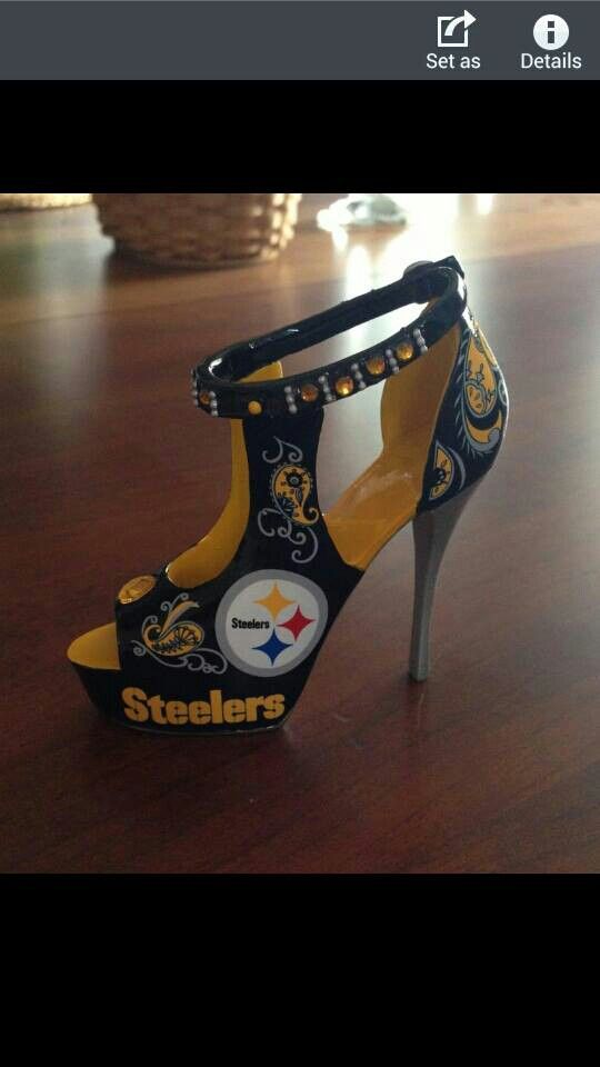 Go Steelers.... Every part of me says I must have them <3.