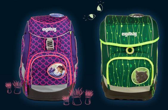 Ergobag LUMI Schulrucksack Pack und Cubo