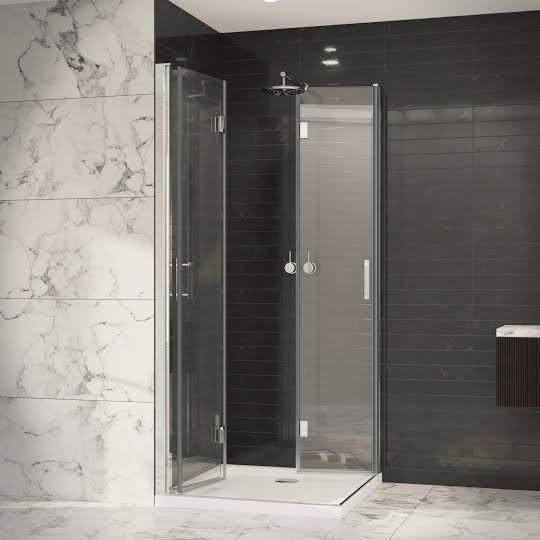 Coram Premier 8 1000mm Double Bifold Shower Door 8mm Glass P8cb10cuc In 2020 Shower Doors Bifold Shower Door Shower Door Installation