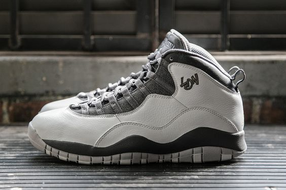 "The Air Jordan 10 Retro ""City Pack"" in Grey & Gold for London - EU Kicks: Sneaker Magazine"