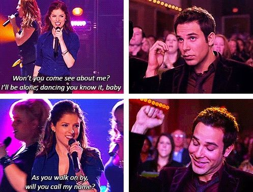Favorite part of Pitch Perfect