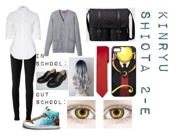 """""""Kinryu Shiota"""" by brittany-and-kiwi-the-fire-fox on Polyvore featuring Gucci and Steffen Schraut"""