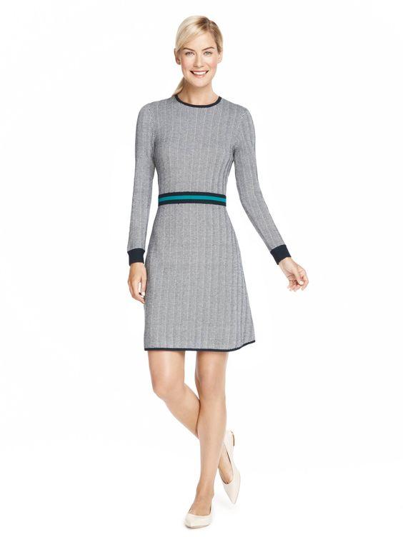 Draper James Sue Ellen Sweater Dress
