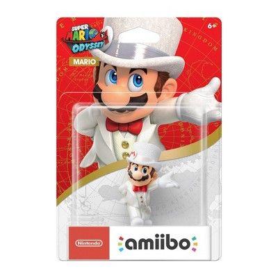 Nintendo Super Mario Odyssey Amiibo Figure Mario Wedding