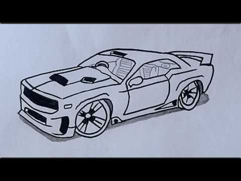 How To Draw A Car Step By Step Drawings Draw Car