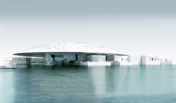 5 Archistar per 5 Musei ad Abu Dhabi   Architettura