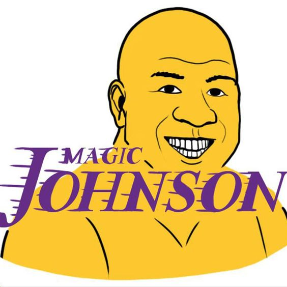 LOS ANGELES LAKERS: Magic Johnson
