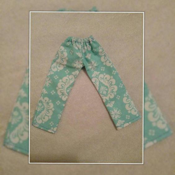 VERKAUF... Blaugrün und weiße Hose für Blythe Puppen von Debbie Aponte in meine…