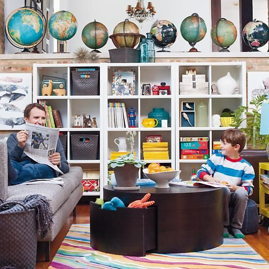 The Land Of Nod | Kids Storage Table: Round Coffee Storage Play Table In  Play Tables | After Kansas | Pinterest | Play Table, Coffeeu2026
